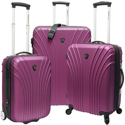 Johnson 3 Piece Luggage Set by Traveler's Choice