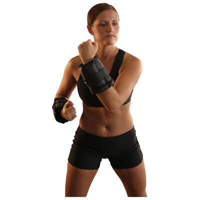 Amber Sporting Goods Adjustable Ankle / Wrist Weights with Single Strap