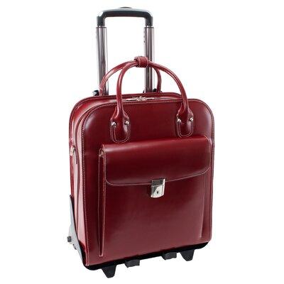 W Series La Grange Leather Laptop Briefcase by McKlein USA