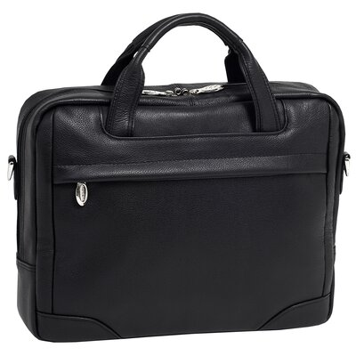 S Series Bridgeport Leather Laptop Briefcase by McKlein USA