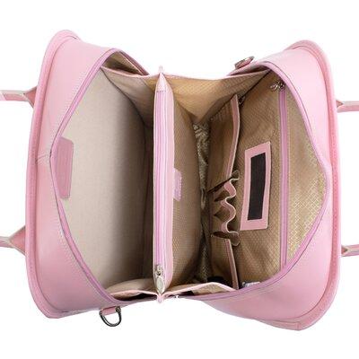 McKlein USA W Series La Grange Leather Laptop Briefcase