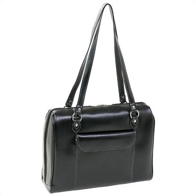 Limited Edition Series Glenview Leather Ladies' Laptop Tote Bag by McKlein USA