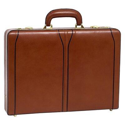 McKlein USA V Series Lawson Leather Attache Case