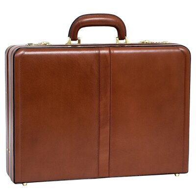 McKlein USA V Series Harper Leather Attache Case