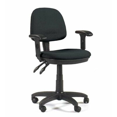 Martin Universal Design Feng Shui Mid-Back Office Chair with Arms
