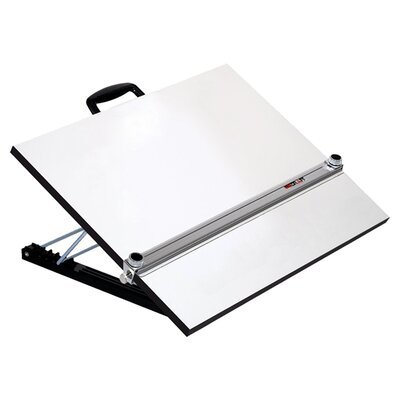 Martin Universal Design Pro Draft Aluminum Adjustable Angle Parallel Edge Drafting Board