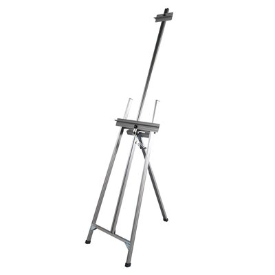 Martin Universal Design Ambiente Classic A-Frame Artist Easel in Natural Aluminum
