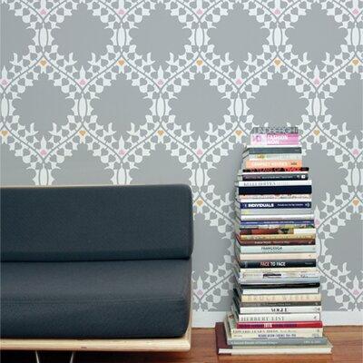"Aimee Wilder Designs Analog Leaf 15' x 28"" Damask Wallpaper"