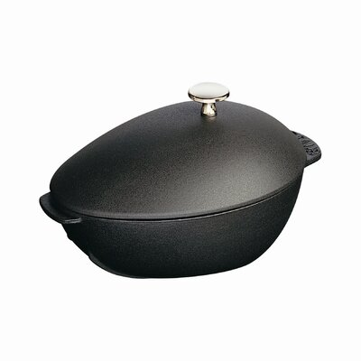 2-qt. Mussel Pot with Lid by Staub