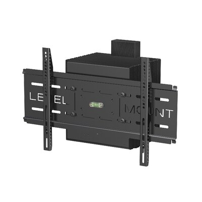 level mount motorized full motion fixed wall mount flat