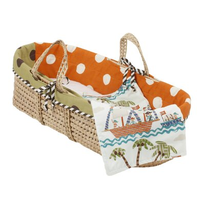 Aye Matie Moses Basket by Cotton Tale