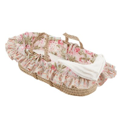 Tea Party Moses Basket by Cotton Tale