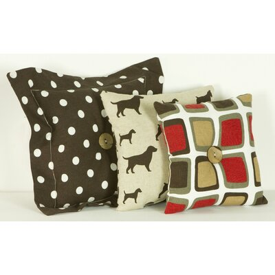 Cotton Tale Houndstooth Cotton Throw Pillow