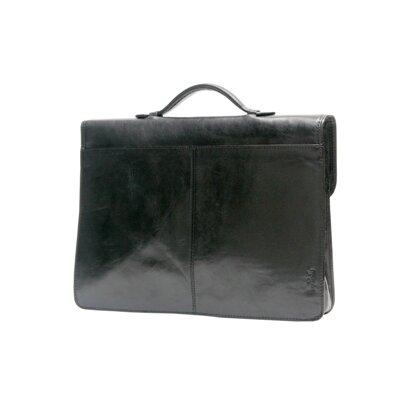 Italico Leather Briefcase by Tony Perotti