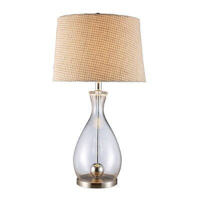 """Dimond Lighting Longport 27"""" H Table Lamp with Empire Shade"""