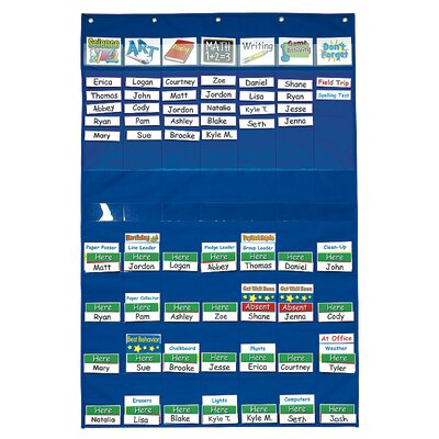 Classroom Management Pocket Chart by Patch Products