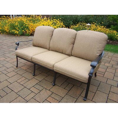 Hampton Deep Seating Sofa with Cushions by Oakland Living
