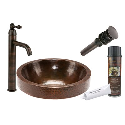 Skirted Vessel Bathroom Sink by Premier Copper Products
