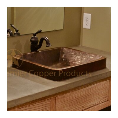 Skirted Vessel Bathroom Sink Product Photo