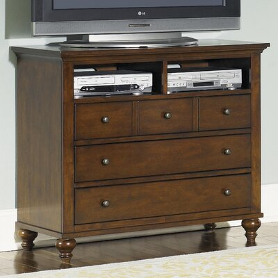 Hamilton 5 Drawer Media Chest by Liberty Furniture