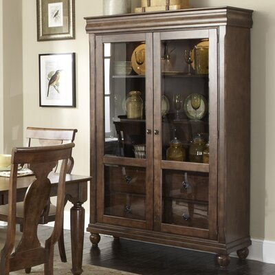 Rustic Traditions Curio Cabinet by Liberty Furniture