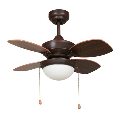 Yosemite Home Decor 28 Hurricane 4 Blade Ceiling Fan Reviews Wayfair