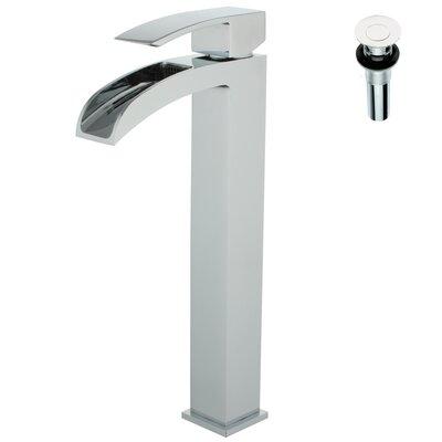 Single Handle Deck Mount Lavatory Faucet Product Photo