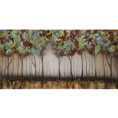 Revealed Artwork Nature Walk Painting Print on Wrapped Canvas by Yosemite Home Decor