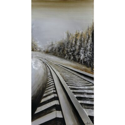 Long Commute Painting on Wrapped Canvas by Yosemite Home Decor