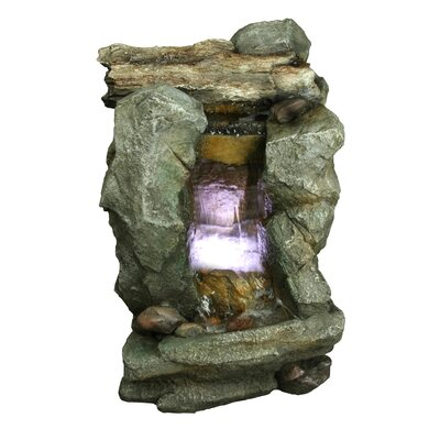 Tiered Rock Fountain by Yosemite Home Decor