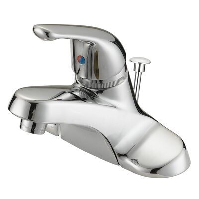 One Handle Centerset Bathroom Faucet Product Photo