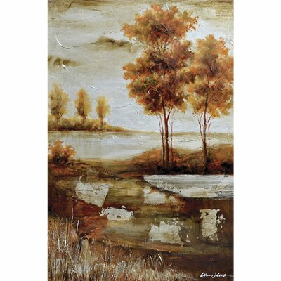 Yosemite Home Decor Revealed Art Countryside I Original Painting on Wrapped Canvas