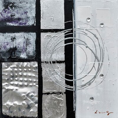 Revealed Art Back to Square III Original Painting on Wrapped Canvas by Yosemite Home Decor ...