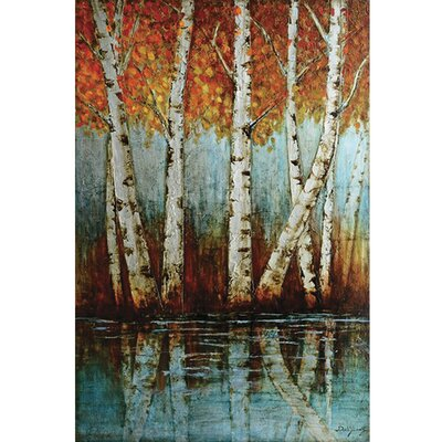 Aspen Grove Wrapped Canvas Art by Yosemite Home Decor