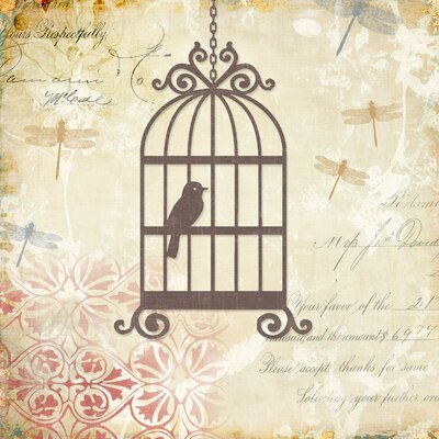 Yosemite Home Decor Revealed Artwork Caged Whimsy I Graphic Art on Wrapped Canvas