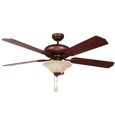 "52"" Whitney 5 Blade Ceiling Fan Product Photo"