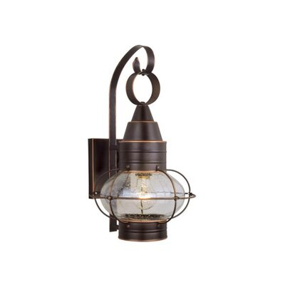 Vaxcel Nautical 1 Light Wall Lantern