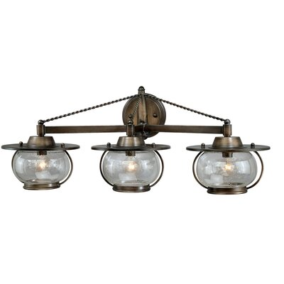 Jamestown 3 Light Vanity Light Product Photo