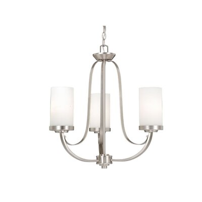 Oxford 3 Light Chandelier by Vaxcel
