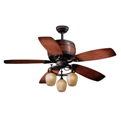 Cabernet 5 Blade Ceiling Fan Product Photo