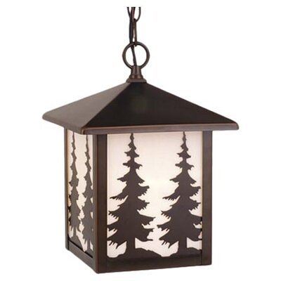 Vaxcel Yellowstone 1 Light Outdoor Hanging Lantern