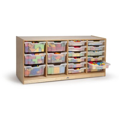 Whitney Brothers 18 Compartment Cubby