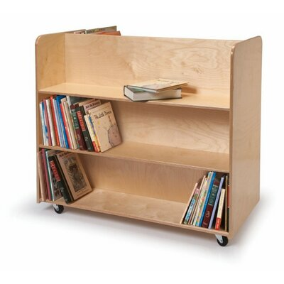 Whitney Brothers Double-Sided Book Cart