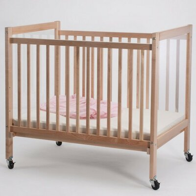 Whitney Brothers Infant Clearview Convertible Crib with Mattress