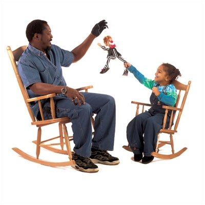 Whitney Brothers Children's Rocker Rocking Chair