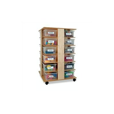 Whitney Brothers 24 Compartment Cubby