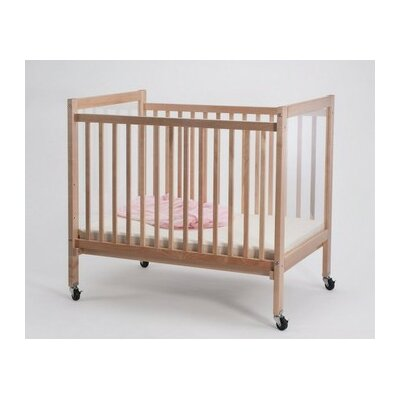 Whitney Brothers Clear View Evacuation Convertible Crib with Mattress
