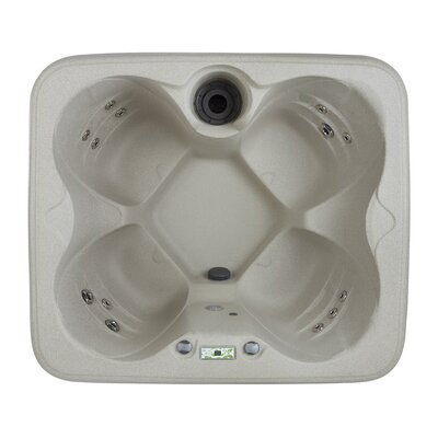 Lifesmart 4-Person 13-Jet Rock Solid Simplicity Plug & Play Spa