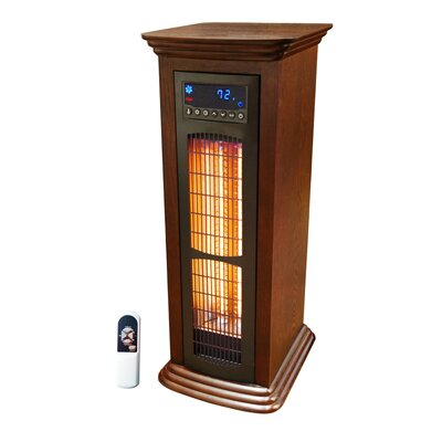 Lifezone 1500 Watts Infrared Tower Heater with Remote by Lifesmart