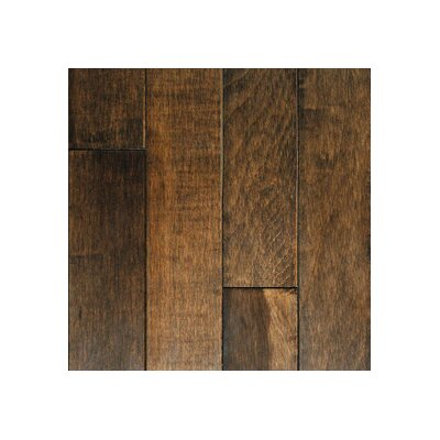 "Mullican Flooring Muirfield 3"" Solid Maple Hardwood Flooring in Cappuccino"